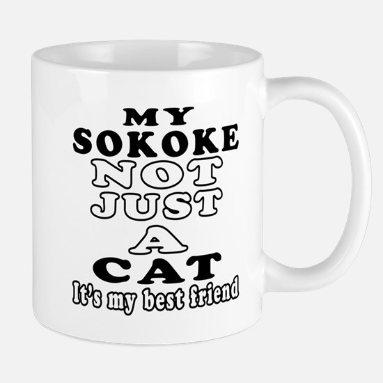 Sokoke Cat Designs Mug