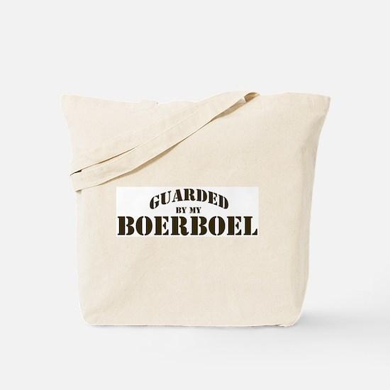 Boerboel: Guarded by Tote Bag
