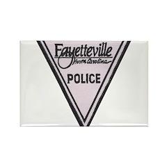Fayetteville Police Rectangle Magnet