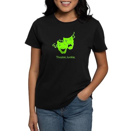 Theatre Junkie Women's Dark T-Shirt