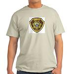 Boundry County Sheriff Ash Grey T-Shirt