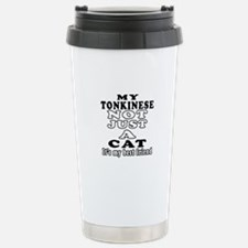 Tonkinese Cat Designs Stainless Steel Travel Mug
