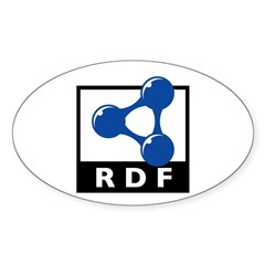 RDF Oval Decal