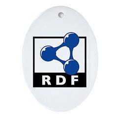 RDF Oval Ornament