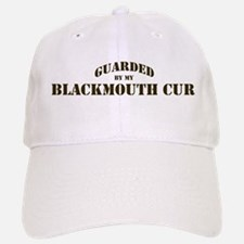 Blackmouth Cur: Guarded by Baseball Baseball Cap