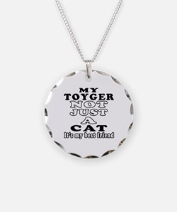 Toyger Cat Designs Necklace