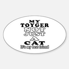 Toyger Cat Designs Decal