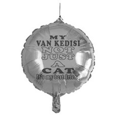 Van kedisi Cat Designs Balloon