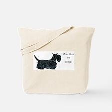Mom's Scottish Terrier Tote Bag