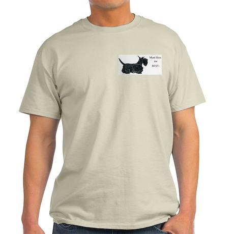 Mom's Scottish Terrier Light T-Shirt