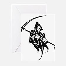 Grim Reaper Greeting Cards