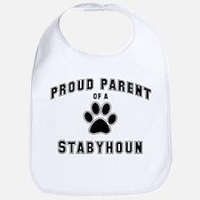 Stabyhoun: Proud parent Bib