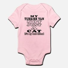 Turkish Van Cat Designs Infant Bodysuit