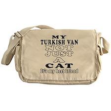 Turkish Van Cat Designs Messenger Bag