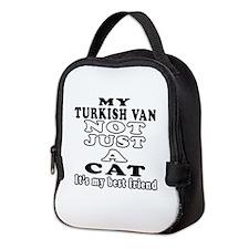 Turkish Van Cat Designs Neoprene Lunch Bag