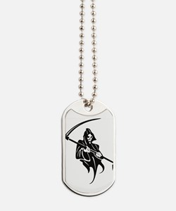 Grim Reaper Dog Tags