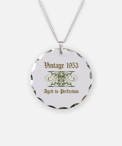 1953 Vintage Birthday (Old English) Necklace