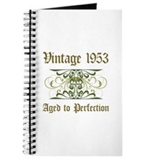 1953 Vintage Birthday (Old English) Journal