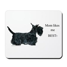 Mom's Scottish Terrier Mousepad