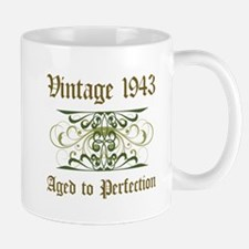 1943 Vintage Birthday (Old English) Mug