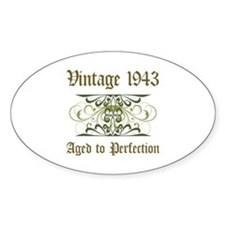 1943 Vintage Birthday (Old English) Decal