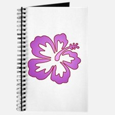 Surf Flowers (Purple and Red) Journal