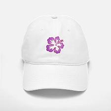 Surf Flowers (Purple and Red) Baseball Baseball Cap