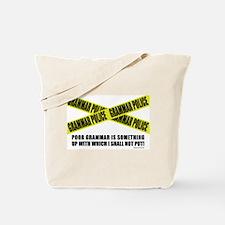 Grammar Police (2) Tote Bag