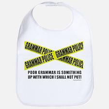 Grammar Police (2) Bib