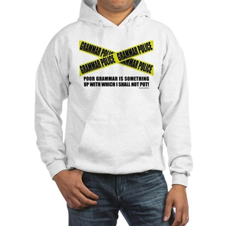 Grammar Police (2) Hooded Sweatshirt