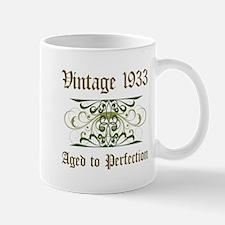 1933 Vintage Birthday (Old English) Mug
