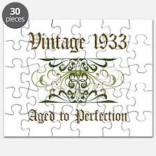 1933 Vintage Birthday (Old English) Puzzle
