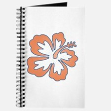 Surf Flowers (Orange and Blue) Journal