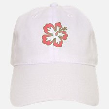 Surf Flowers (Pink and Green) Cap