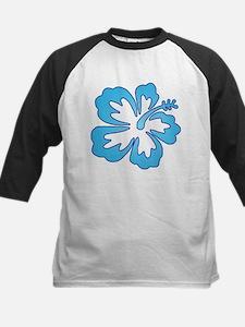 Blue Surf Flowers Tee