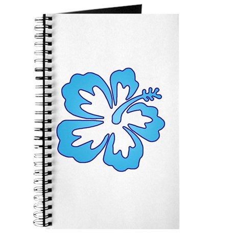 Blue Surf Flowers Journal