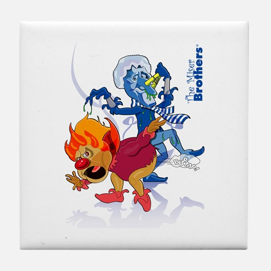The Miser Brothers Tile Coaster