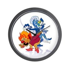 The Miser Brothers Wall Clock
