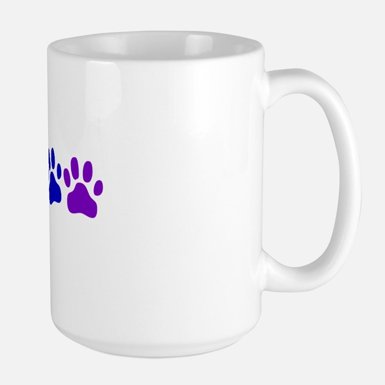 Rainbow Paws Large Mug