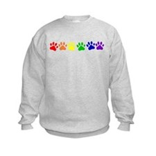 Rainbow Paws Sweatshirt