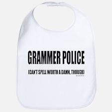 Grammer Police Bib