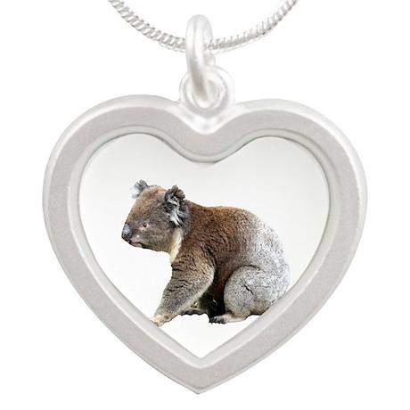 Aussie Koala Bear Cutout Photo Necklaces