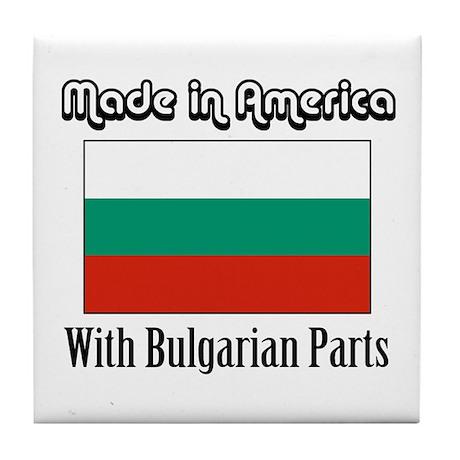 Bulgarian Parts Tile Coaster