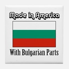 Bulgarian Parts Tile Coaster