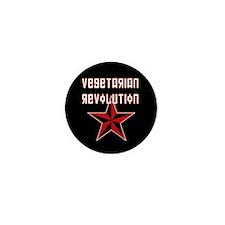 Vegetarian Revolution Mini Button (10 pack)