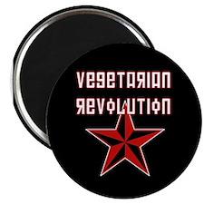 """Vegetarian Revolution 2.25"""" Magnet (10 pack)"""