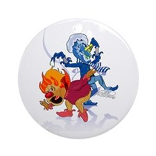 The Miser Brothers Ornament (Round)