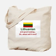 Good Looking Lithuanian Tote Bag
