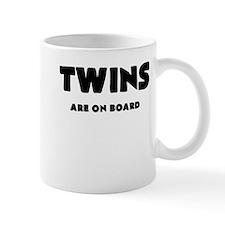 TWINS ARE ON BOARD Mugs
