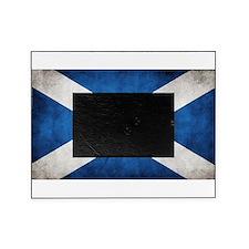 antiqued scottish flag Picture Frame